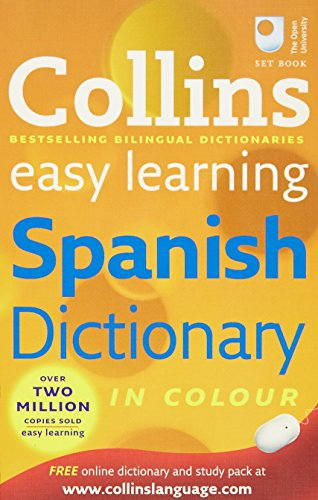 9780007253500: Collins Easy Learning Spanish Dictionary (Collins Easy Learning Spanish) (Collins Easy Learning Dictionaries)