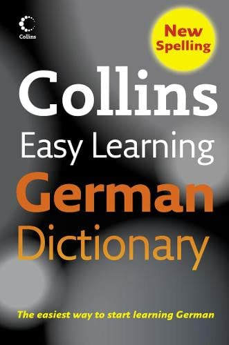 9780007253524: Collins Easy Learning German Dictionary (Collins Easy Learning German) (Easy Learning Dictionary)