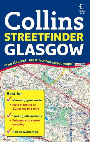 9780007254576: Glasgow Streetfinder Colour Map