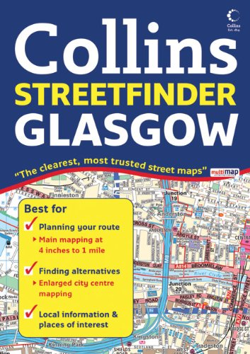 9780007254583: Glasgow Streetfinder Colour Atlas (Collins Streetfinder)