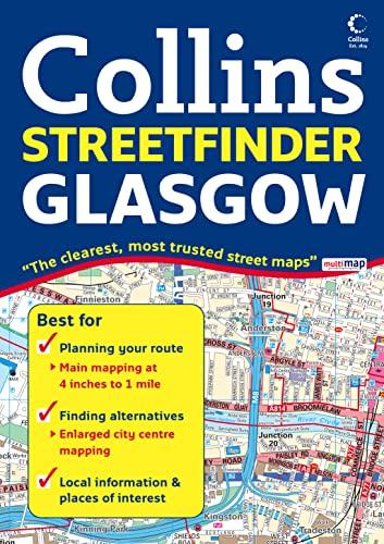 9780007254583: Collins Glasgow Streetfinder (Collins Travel Guides)