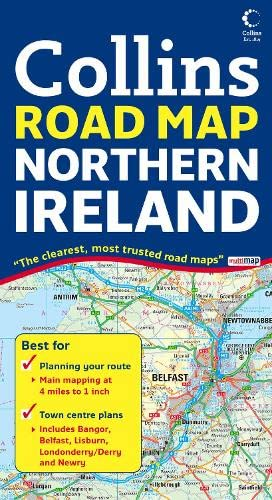 9780007254590: Northern Ireland Road Map