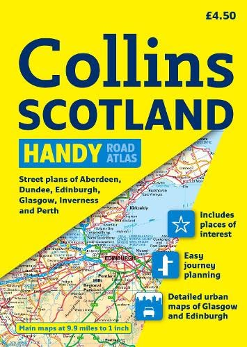 9780007254613: Collins Scotland Handy Road Atlas (International Road Atlases)