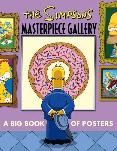 9780007254958: The Simpsons Masterpiece Gallery: A Big Book of Posters