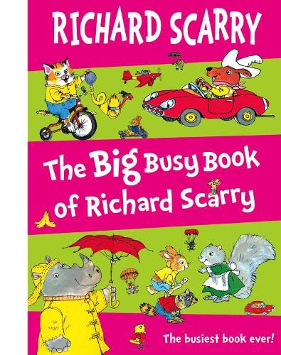 9780007255009: The Big Busy Book of Richard Scarry