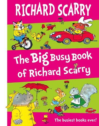 9780007255016: The Big Busy Book of Richard Scarry