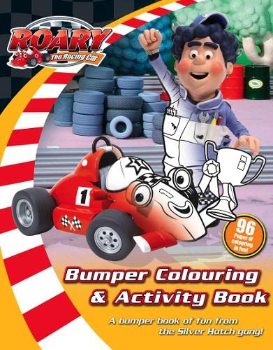 9780007255221: Roary the Racing Car - Bumper Colouring and Activity Book