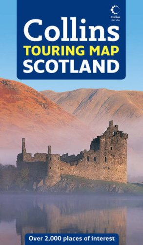 9780007256723: Touring Map Scotland