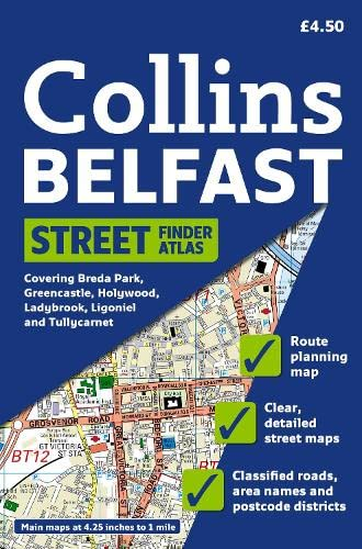 9780007257577: Collins Belfast Street Finder Atlas (Collins Travel Guides)