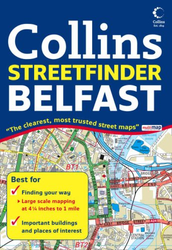 9780007257584: Belfast Streetfinder Colour Map