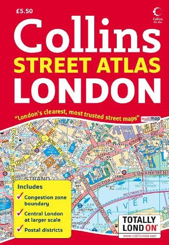 9780007257607: London Street Atlas