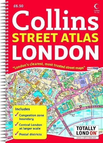 9780007257614: Collins Street Atlas London