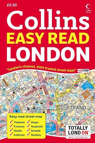 9780007257638: London Easy Read Atlas (Road Atlas)
