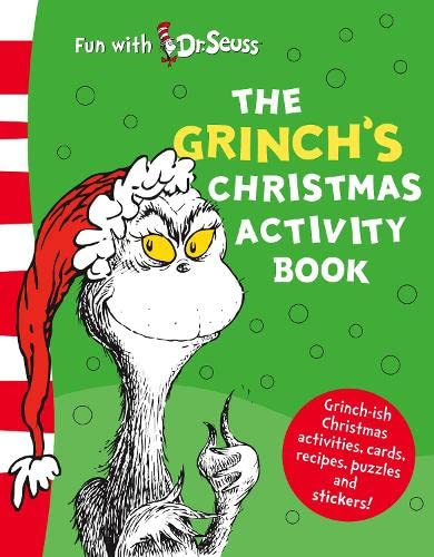 The Grinch's Christmas Activity Book (Dr Seuss) (9780007258635) by Dr. Seuss