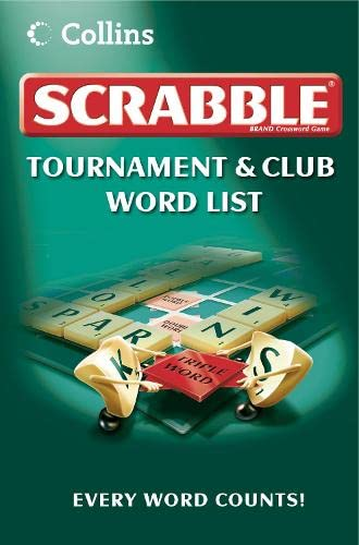 9780007258840: Collins Scrabble Tournament and Club Word List