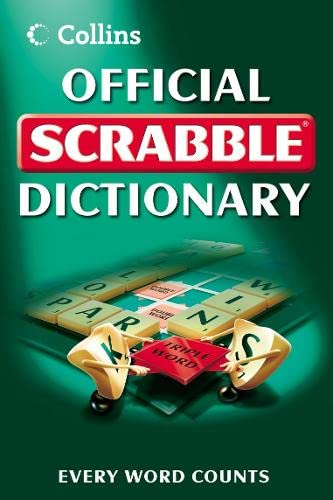 9780007259083: Collins Official Scrabble Dictionary