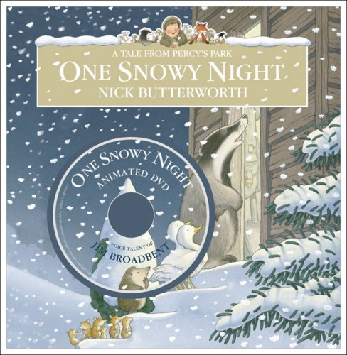 9780007259427: One Snowy Night (Percy the Park Keeper)