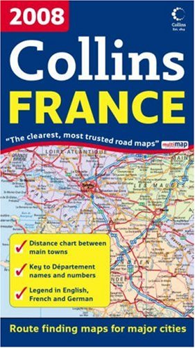 9780007259823: International Road Map - 2008 Map of France