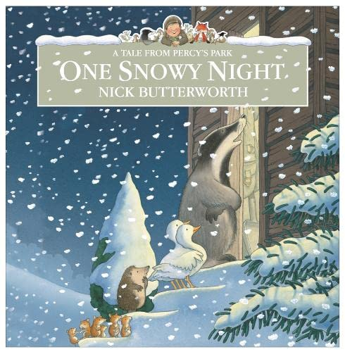 9780007260249: One Snowy Night (Percy the Park Keeper)