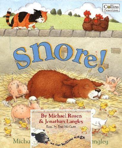 9780007260676: Snore! (Book & CD)