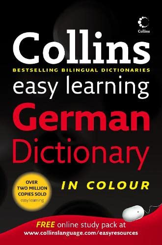 9780007261055: Collins Easy Learning German Dictionary (Collins Easy Learning Dictionaries) (German and English Edition)