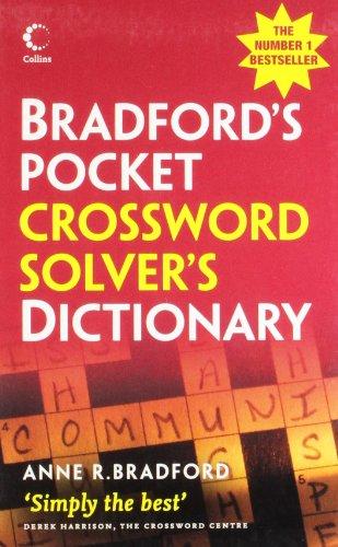 9780007261093: Collins Bradford's Crossword Solver's Pocket Dictionary (Collins GEM)