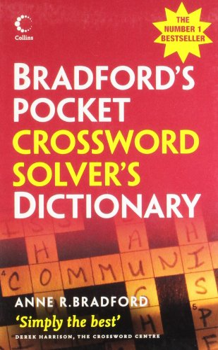 9780007261093: Bradford's Pocket Crossword Solver's Dictionary (Collins Gem)