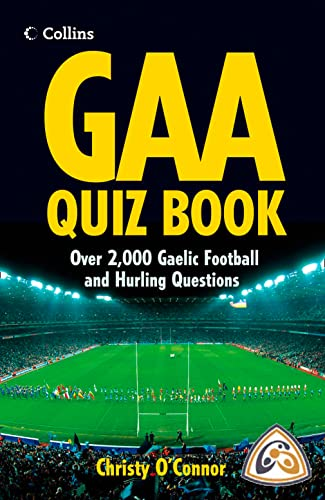 9780007263561: GAA Quiz Book: Over 2,000 Gaelic Football and Hurling Questions