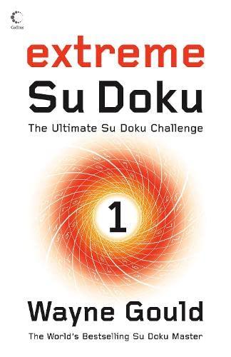 9780007263691: Extreme Su Doku Book 1