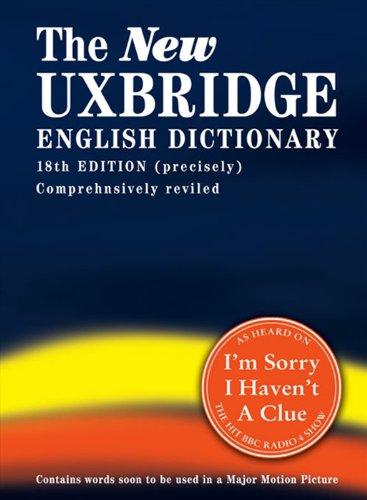 9780007263936: The New Uxbridge English Dictionary