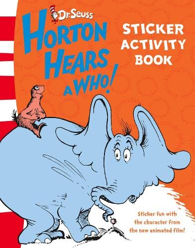 Sticker Activity Book (Horton Hears a Who)