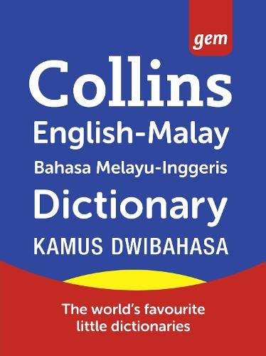 9780007264056: Malay Dictionary (Collins Gem)