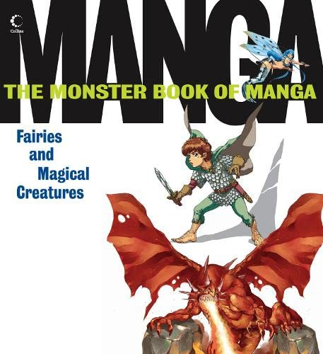 9780007264360: Monster Book of Manga Fairies and Magical Creatures