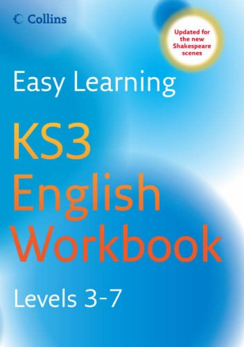 9780007265695: Easy Learning - KS3 English Workbook Levels 3-7
