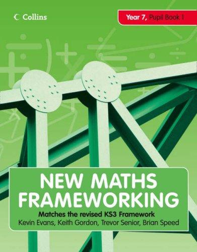 9780007266081: New Maths Frameworking - Year 7 Pupil Book 1 (Levels 3-4)