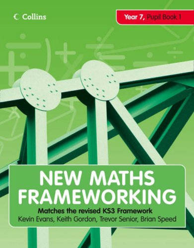 9780007266081: New Maths Frameworking - Year 7 Pupil Book 1 (Levels 3-4): Pupil (Levels 3-4) Bk. 1