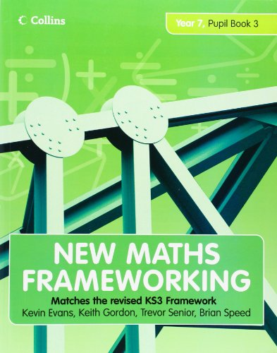 9780007266104: Year 7 Pupil Book 3 (Levels 5-6) (New Maths Frameworking) (Bk. 3)