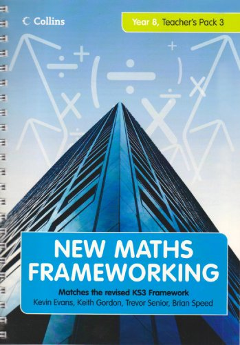 9780007266210: New Maths Frameworking - Year 8 Teacher's Guide Book 3 (Levels 6-7): Teacher's Guide (Levels 6-7) Bk. 3