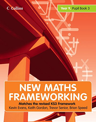 9780007266265: New Maths Frameworking – Year 9 Pupil Book 3 (Levels 6–8): Pupil (Levels 6-8) Bk. 3