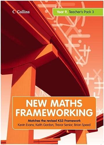 9780007266296: Year 9 Teacher's Guide Book 3 (Levels 6-8) (New Maths Frameworking) (Bk. 3)