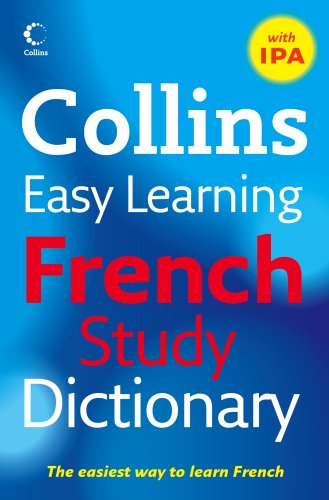 9780007266890: Easy Learning French Study Dictionary with IPA (Collins Easy Learning French)
