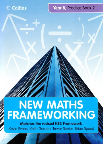 9780007267996: Year 8 Practice Book 2 (Levels 5-6) (New Maths Frameworking) (Bk. 2)