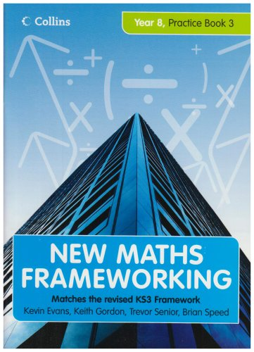 9780007268009: Year 8 Practice Book 3 (Levels 6-7) (New Maths Frameworking) (Bk. 3)