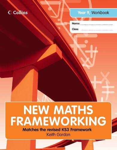 9780007268047: New Maths Frameworking ? Year 9 Workbook (Levels 3?4)