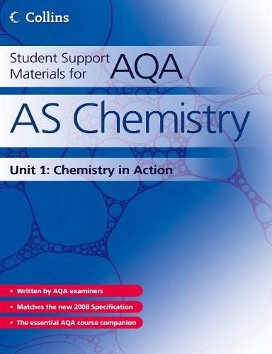 9780007268252: Student Support Materials for AQA - AS Chemistry Unit 1: Foundation Chemistry: Foundation Chemistry Unit 1