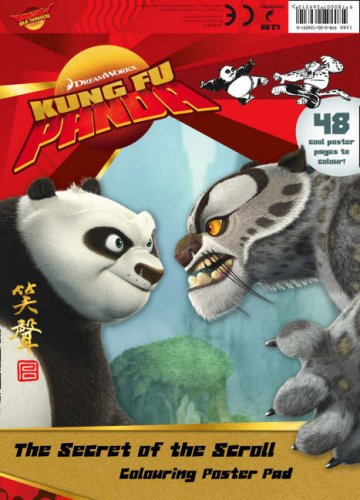 9780007269310: Kung Fu Panda - The Secret of the Scroll: Colouring Poster Pad