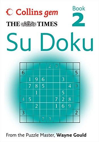 9780007269594: The Times Su Doku Book 2 (Collins Gem): Bk. 2