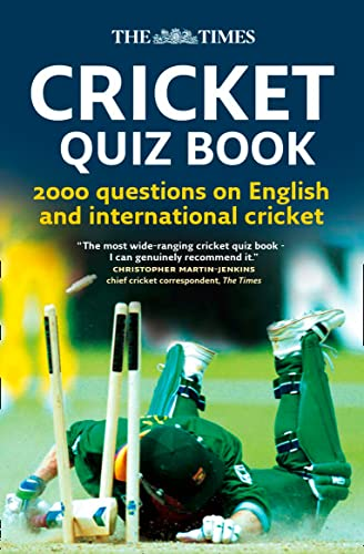 9780007270811: The Times Cricket Quiz Book