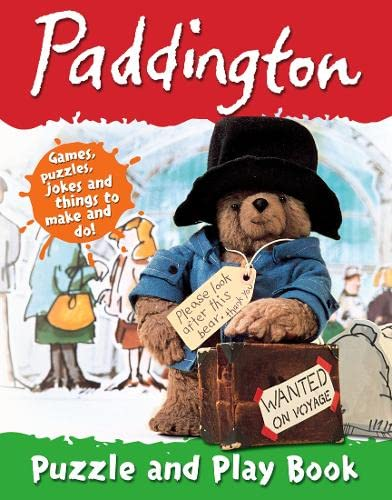 Paddington Puzzle and Play Book: Bond, Michael
