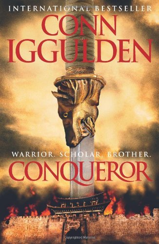CONQUEROR - BOOK 5 OF THE CONQUEROR SERIES - SIGNED FIRST EDITION FIRST PRINTING